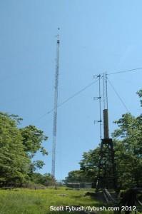 The WDAQ/WLAD tower