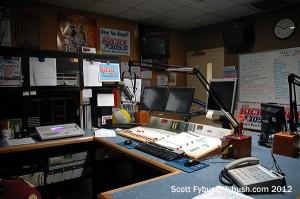 WDBY's studio