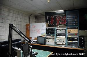 Racks in the WRKI studio