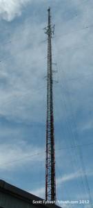The WRKI/WINE tower