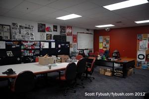 Office area, left side