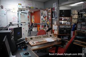 WXCI's air studio