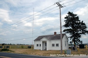 The WILL(AM) transmitter building