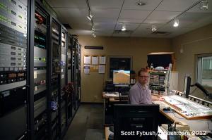 WILL radio master control