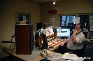A WILL radio studio