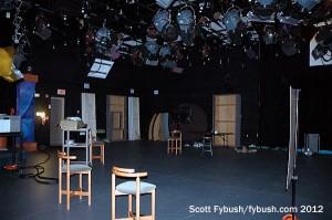 WILL-TV's studio