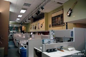 Emmis' office area