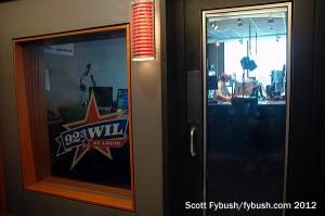 The WIL 92.3 studio