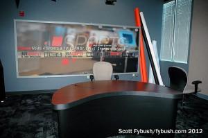 TV studio at Hubbard