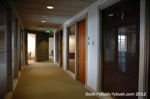 Oasis studio hallway