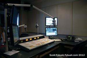 The WBTU studio