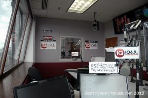 WWIQ talk studio...