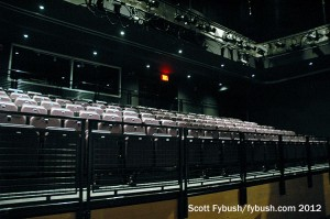 Audience seating...