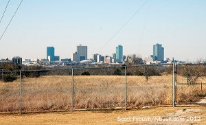 The Fort Worth skyline