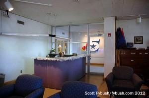 The KXAS lobby