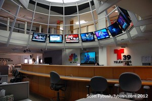 Newsroom, from below