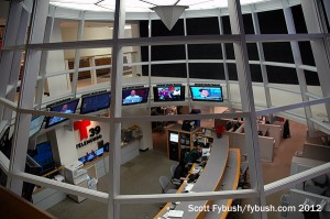 Newsroom, from above
