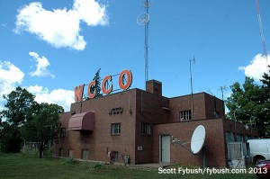 The WCCO transmitter building