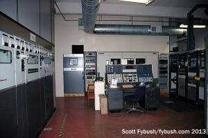 Transmitter room at WCCO