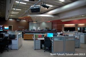 WCCO-TV's newsroom