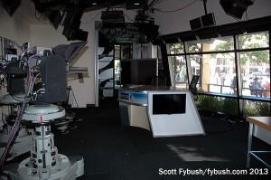 Flash desk in the newsroom