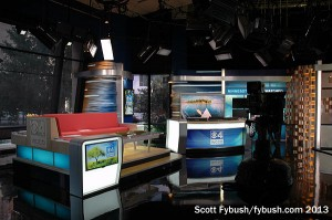 The studio at WCCO-TV