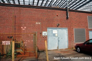 Door to the former WSBK