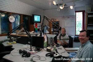 KROC 1340 studio