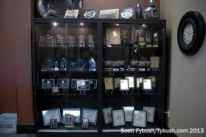Case full of awards