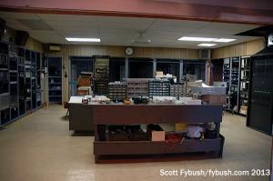 The KVLY transmitter room