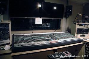 KVSC production room