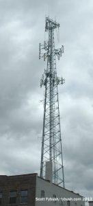The KXBQ-LP tower