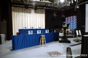 Prairie Public TV studio