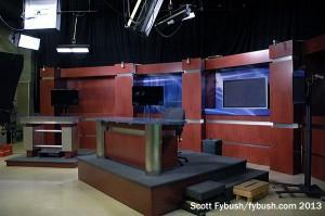 WDAY-TV studio