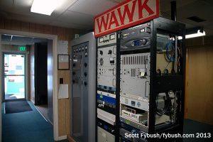 WAWK's transmitter