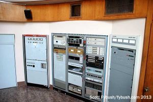 The AM and translator transmitters