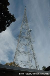 The WETA-FM tower