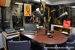 WLYV's talk studio, 2014