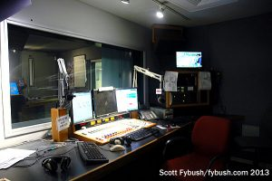 WMAL control room