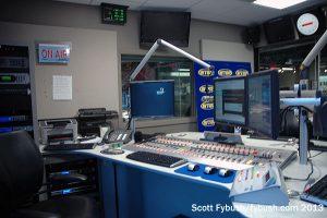 Inside a WTOP air studio