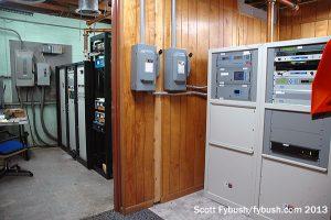 WBYN transmitter room