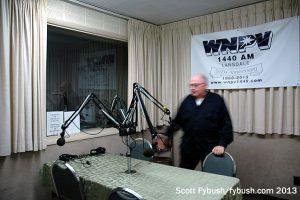 WNPV's talk studio
