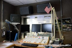 WGVA's studio