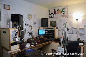 The WHWS-LP studio