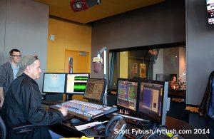 AM640 control room