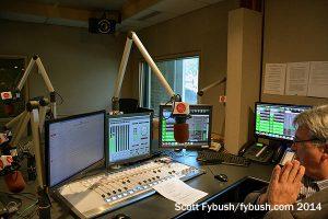 CFMZ's studio