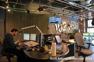 102.1 the Edge studio