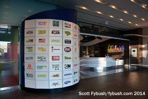The Corus lobby