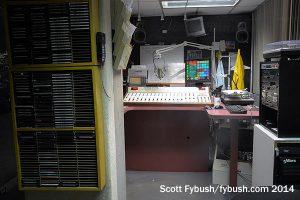The WTKU studio