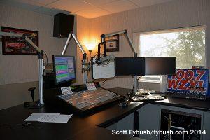 WZXL's studio
